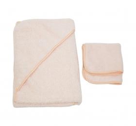 超細纖維浴包巾(附小方巾)